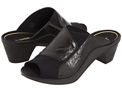 Romika Mokassetta 244 (Diamante Plissee Black) High Heels