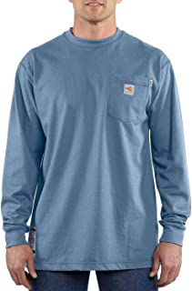 Carhartt Men's Flame Resistant Force Cotton Long Sleeve T-Shirt