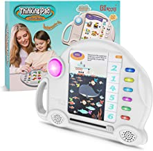 Preschool Electronic Learning Education Toys - Kids Thinking Pad with 6 Big Theme Q&A Family Interactive Games,Best Gift T...