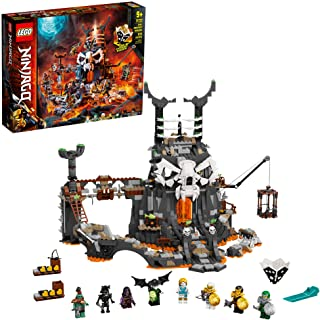 LEGO NINJAGO Skull Sorcerer's Dungeons 71722 Dungeon Playset Building Toy for Kids Featuring Buildable Figures, New 2020 (...