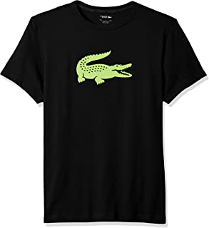 Mens Sport Technical Jersey Tennis T-Shirt With Croc Graphic