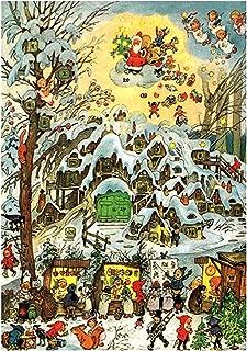 Alexander Taron 10391 Korsch Advent-Snowy Village Scene-11.75