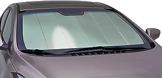 Intro-Tech HI-48 Silver w Custom Fit Windshield Sunshade for Select Hyundai Kona Models