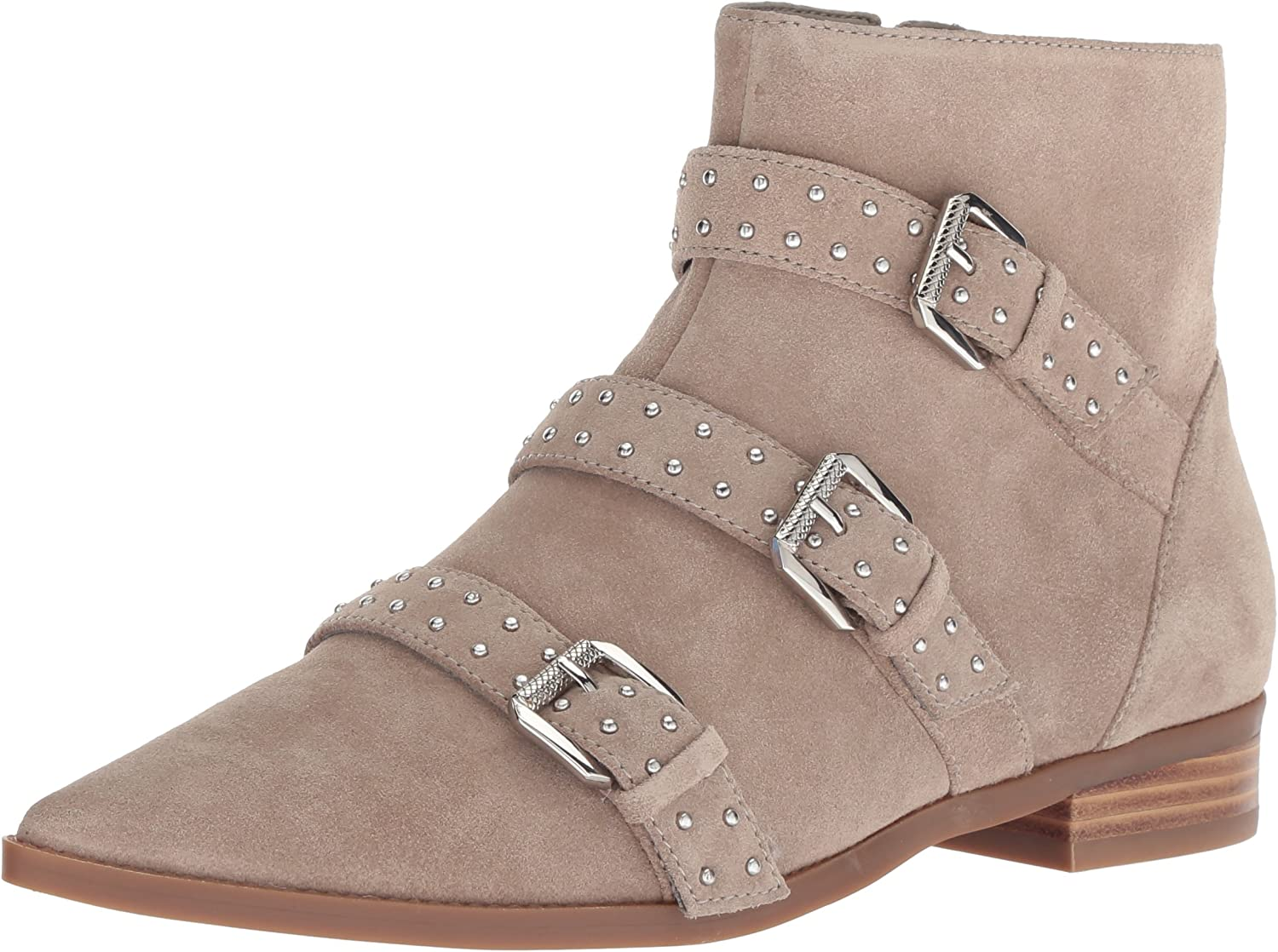 Nine West Womens Seraphim Suede Ankle Boot