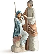 تمثال قصة عيد الميلاد من Willow Tree