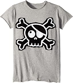 Nununu - Skull Patch T-Shirt (Little Kids/Big Kids)