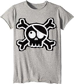 Skull Patch T-Shirt (Little Kids/Big Kids)