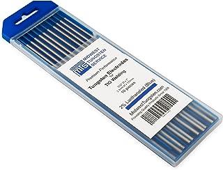 """TIG Welding Tungsten Electrodes 2% Lanthanated 3/32"""" x 7"""" (Blue"""