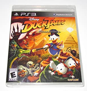 DuckTales Remastered for Playstation 3 Brand New! Factory Sealed!