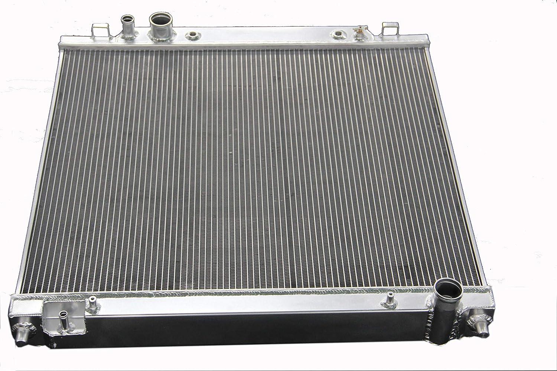 ZC2171 驚きの値段 New 2 Rows All Aluminum F-350 Fit Radiator 卓越 2002-2004 Supe