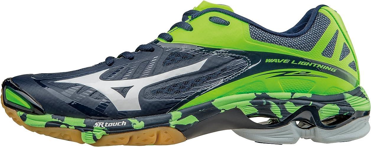 Mizuno Chaussures Wave Lightning Z2 Bleu Blanc Vert