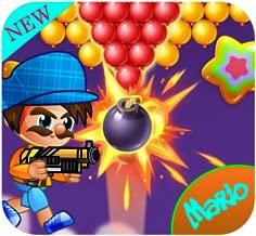Mario Bubble Shooter Adventure: New shooter game 2019