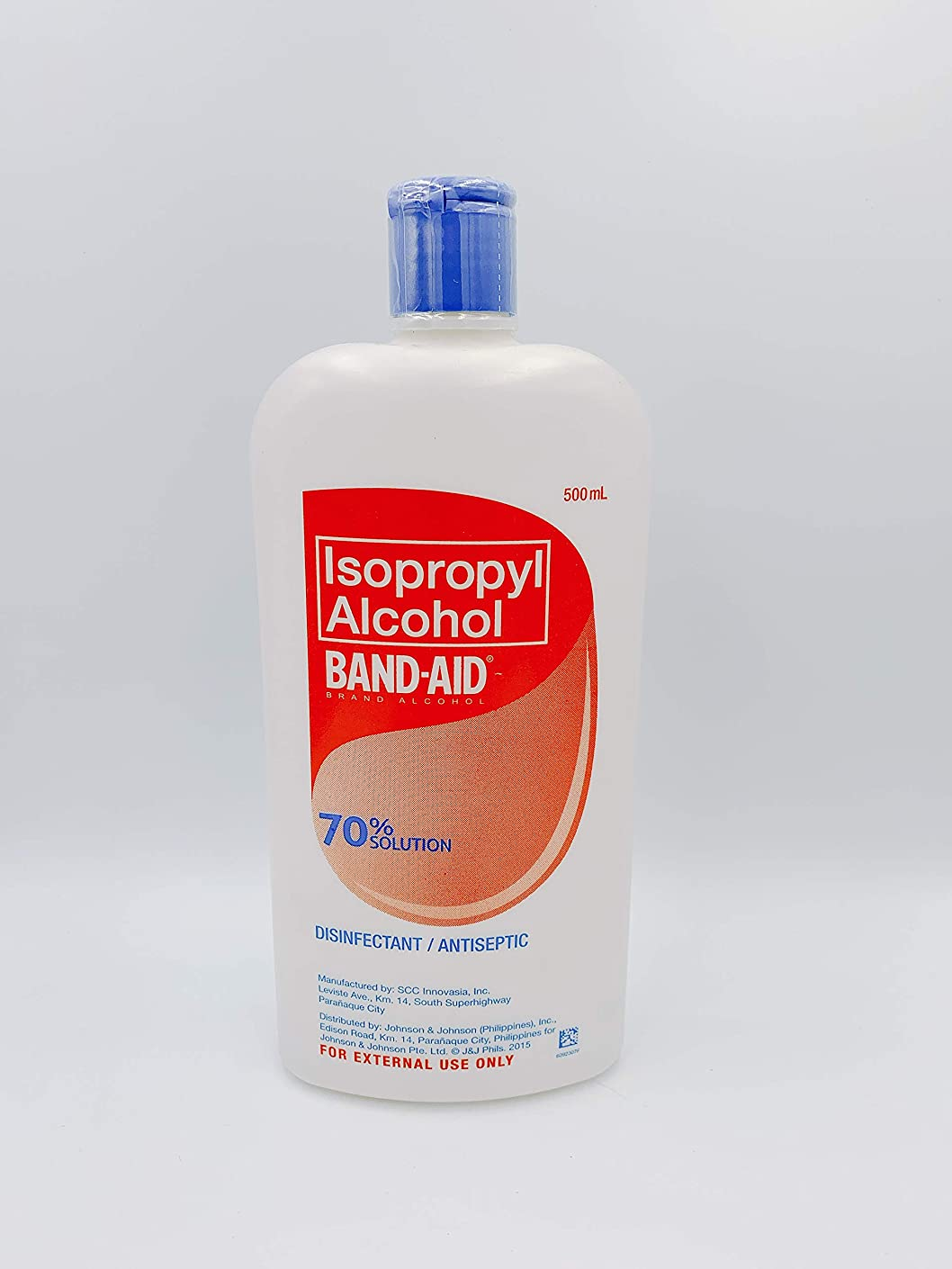 期限切れ限り森BAND-AID Isopropyl Alcohol 70% SOLUTION 500ml
