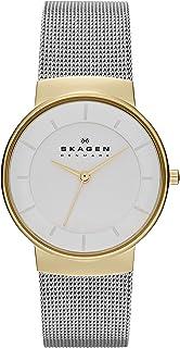 Skagen Nicoline Women's White Dial Stainless Steel Analog Watch - SKW2076