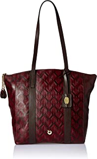 Holii Peacock Throne Women's Tote Bag (Brick Red)