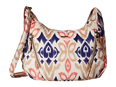 Pacsafe Stylesafe Anti-Theft Convertible Crossbody (Ikat Coral) Handbags