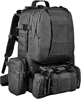 Sponsored Ad - CVLIFE Tactical Backpack Military Army Rucksack Assault Pack Built-up Molle Bag