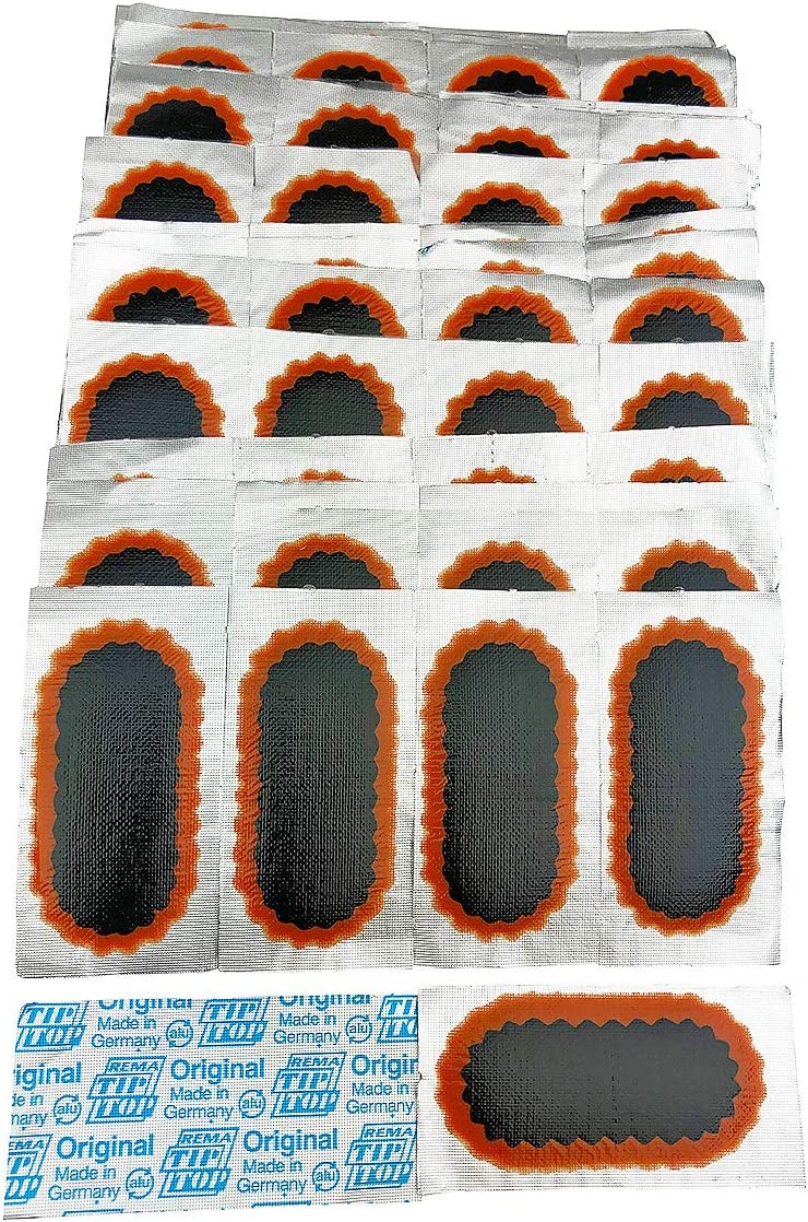 Rema Deluxe Tip Top 50 F2 Oval Patches Tube Punctur Discount is also underway Flat Tire - Bicycle