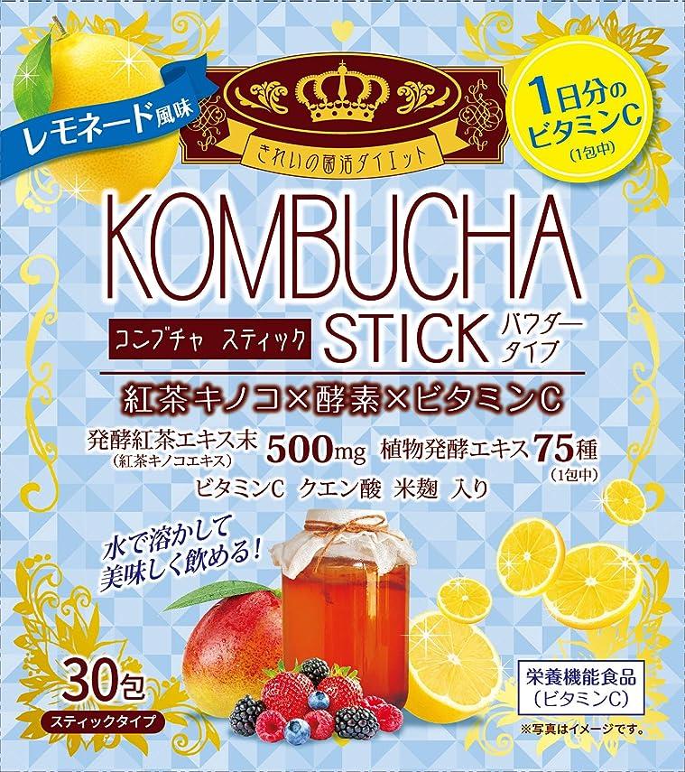 アンテナ未来研磨KOMBUCHA STICK レモネード風味 30包
