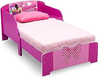 Delta Children Disney Minnie Kids Toddler Wooden Bed, Piece of 1