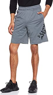 Under Armour Men's Sportstyle Cotton Wordmark Logo Shor Shorts