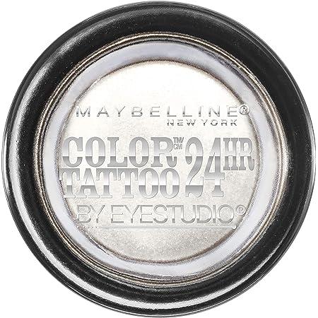 Maybelline New York Eyestudio ColorTattoo Metal 24HR Cream Gel Eyeshadow, Too Cool, 0.14 Ounce (1 Count)