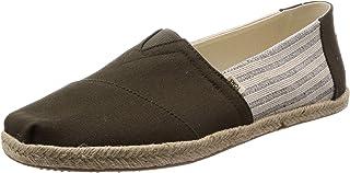 حذاء تومز ايفي ليج مع نقش مخطط تصميم كلاسيك رجالي بنمط كاجوال/يومي سهل الارتداء دون رباط
