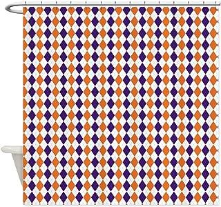 CafePress Clemson 2.png Shower Curtain Decorative Fabric Shower Curtain (69