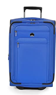 "Delsey Luggage Helium Sky 2.0 21"" Carry-on 2 Wheel Expandable Trolley (Blue)"