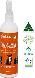 Best anti static spray for dog hair Reviews