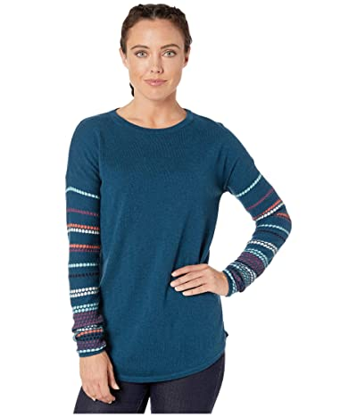 Smartwool Shadow Pine Crew Sweater (Deep Marlin Heather) Women