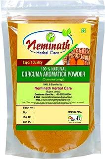 Organic Curcuma Longa Powder /100% Natural Turmeric Rhizome/Turmeric Root (Curcuma AROMATICA/Curcuma Longa) Powder for Younger Looking Skin Naturally (0.22 lb)/3.5 Ounces)