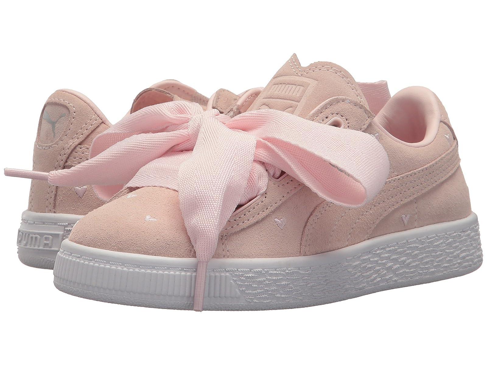 Puma Kids Suede Heart Valentine (Little Kid)Atmospheric grades have affordable shoes