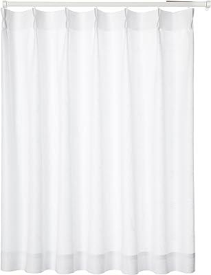 ユニベール ミラーレースカーテン ホワイト 幅100×丈176cm 1枚 HAZ-L0016