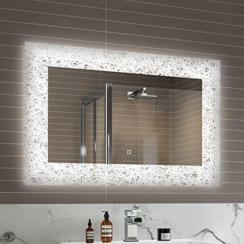 Large Mirror With Lights Amazoncouk