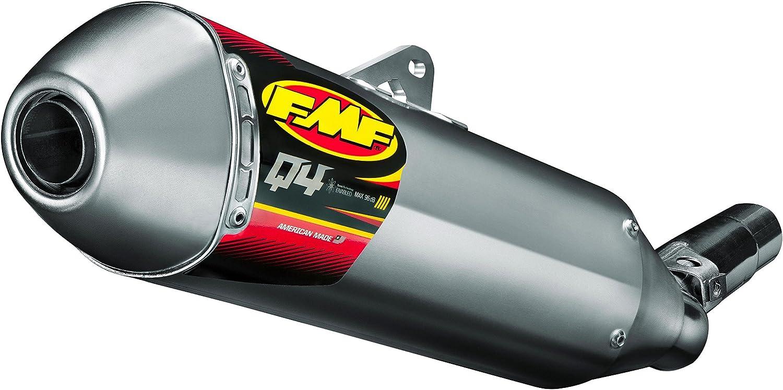 FMF Racing Q4 Portland Mall Spark Arrestor Muffler Hexagonal Slip-On OFFicial - Stain