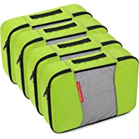 4-Pack Gonex Travel Packing Cubes (Green)