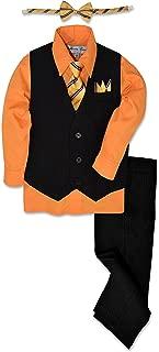 boys orange dress shirt