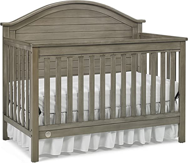 Fisher Price Haley 4 In 1 Convertible Crib Vintage Grey