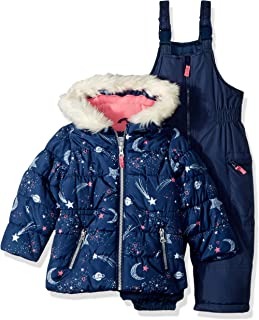 Girls' Heavyweight 2-Piece Skisuit Snowsuit