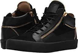 Giuseppe Zanotti May London Mid Top Zipper Sneaker