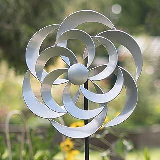 Creekwood 48041 Garden Wind Spinner (16 x 50 x 170 cm), Cotswold Silver
