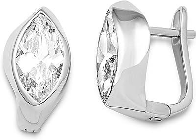 Miore - MSAE004E - Boucles d'Oreille - Femme - Argent 925/1000 3.2 Gr - Oxyde de Zirconium