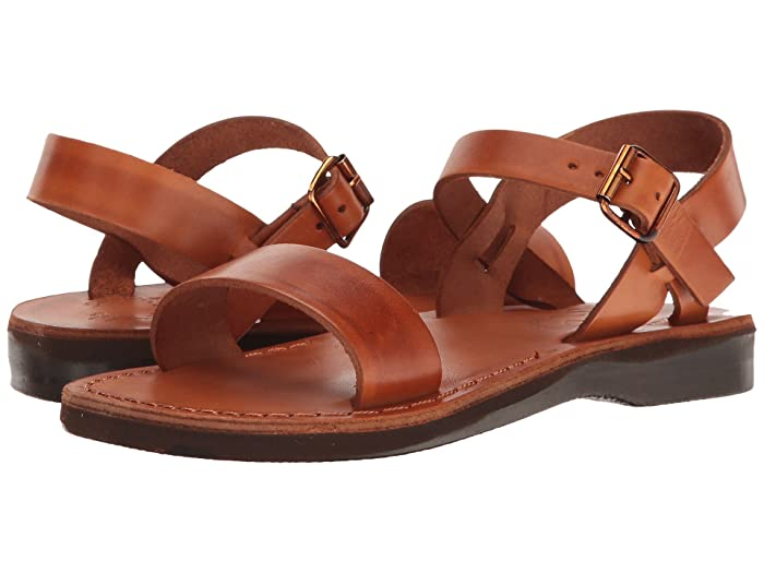 70s Shoes, Platforms, Boots, Heels Jerusalem Sandals Naomi - Womens Honey Womens Shoes $75.95 AT vintagedancer.com