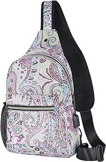 MOSISO Sling Backpack with USB Charging Port Hiking Daypack Outdoor Shoulder Bag