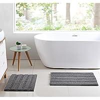 Deals on Yummargot Bath Rugs Non Silp Mat Set of 2