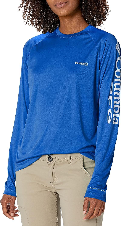 Columbia Women's PFG Tidal Tee II UPF 50 Long Sleeve Fishing Shirt