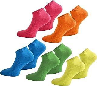 15 pares de calcetines para hombre y mujer, tallas 35 – 50, muchos colores modernos