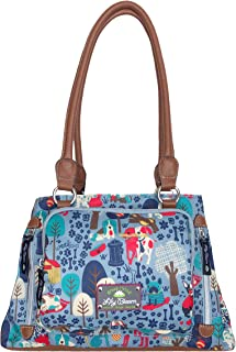 Maggie Satchel Handbag (Who Let The Dogs Out)