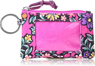 Vera Bradley womens Lighten Up Zip Id Case